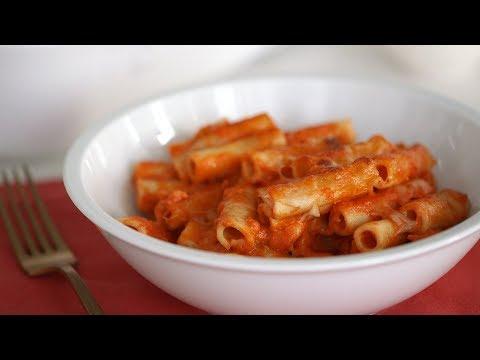 Creamy Baked Ziti- Everyday Food with Sarah Carey