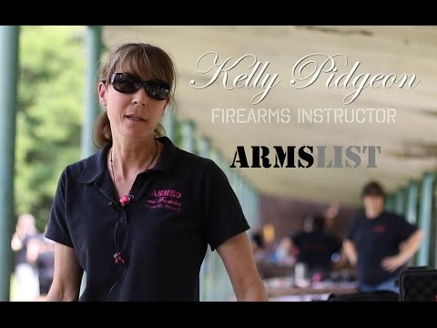 Kelly Pidgeon - Firearms Training for Women