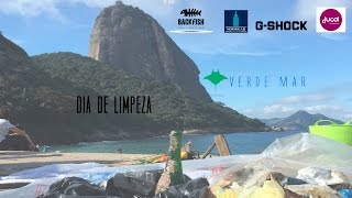 MEIO AMBIENTE: Clean Up Day na Praia Vermelha com a UNIRIO - Dive Against Debris