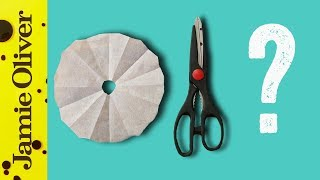 How To Make A Cartouche | 1 Minute Tips | French Guy Cooking