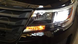 Intro to the LAPD 2016 Ford Explorer Police Interceptor Patrol Car WVAL