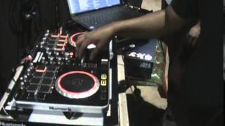 DJ domador escrashando en vivo