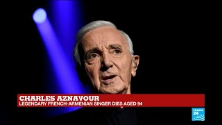 """Charles Aznavour: """"the French Frank Sinatra"""""""