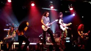 Dragonforce Live In Brazil 08/11 - Through The Fire And Flames  (SOLO!!!)