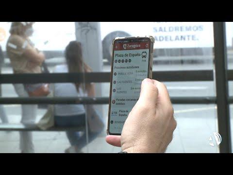 Los autobuses y tranvías de Zaragoza ofrecen un asistente virtual para personas ciegas