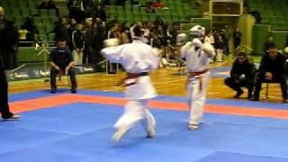 Nia Keranova fighting (fastest K.O.)