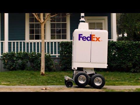 FedEx's autonomous robot SameDay Bot delivers packages to your doorstep