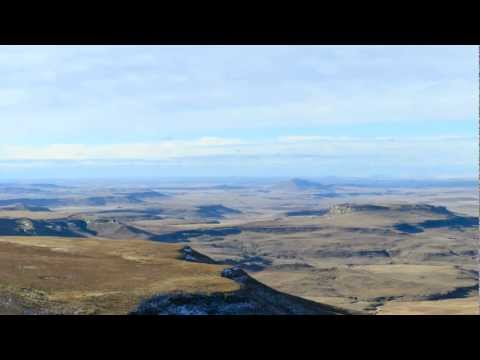 Panoramic view of Golden Gate Highlands National Park