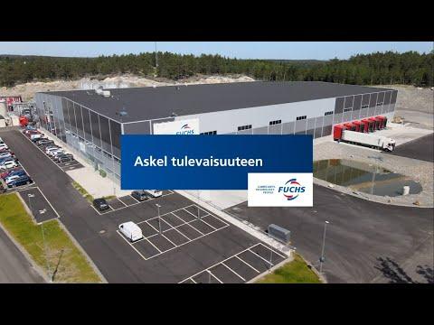 Askel tulevaisuuteen - FUCHS Nordics uusi tuotantolaitos