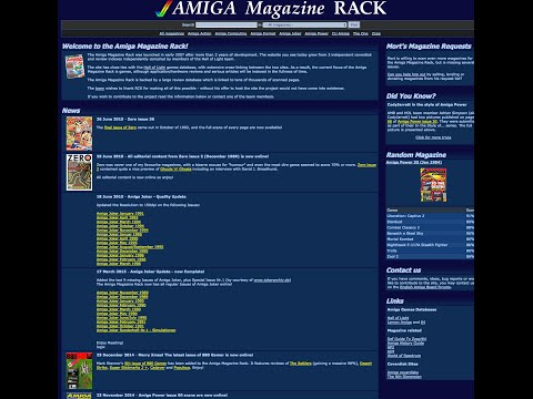Zona Retro Flash: Revistas de Importación de Commodore Amiga