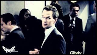 "Barney & Robin; ""You light up my world like nobody else..."""