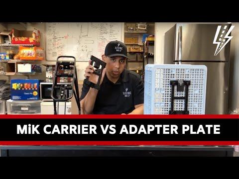 MiK Carrier vs  Adapter Plate
