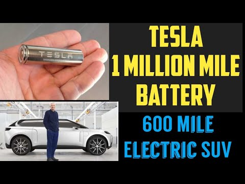 Tesla 1 Million Mile Battery, Dyson 600 Miles Electric SUV - EV News 92