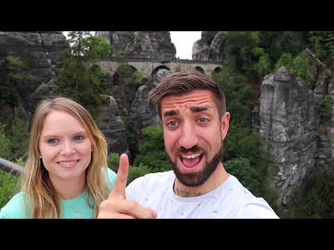 Chloe and Macca's adventures in Saxony