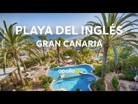 Playa del Inglés på Gran Canaria