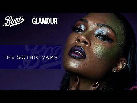 boots.com & Boots Discount Code video: BOOTS X GLAMOUR- Gothic Vamp