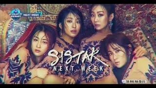 SISTAR 씨스타 'I Like That' M!Countdown Next Week Teaser #1