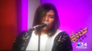 """Yuridia - Cobarde en """"A primera hora"""" [Univision Parte 2]"""