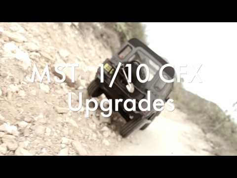 1/10 MST CFX with Team Raffee Co. D90 Defender out on its first drive.