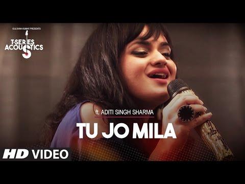 Tu Jo Mila Lyrics - Aditi Singh Sharma | T-Series Acoustics