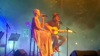 Fabrizio Moro feat Elodie Di Patrizi live @Tagliacozzo 19/8/16 UN'ALTRA VITA