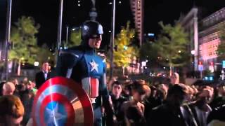 The Avengers   Iron man entrance ACDC Shoot To Thrill