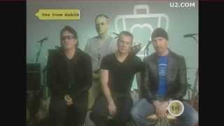 U2 Elevation Tour 2001 Announcement