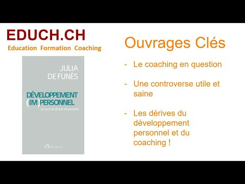 Julia de Funès un regard critique sur le coaching personnel