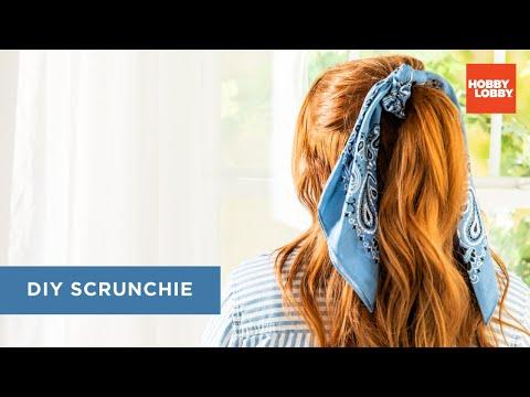 DIY Scrunchie | Fashion Bandanas | Hobby Lobby®