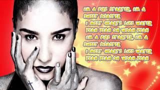 Demi Lovato  Fire Starter lyrics