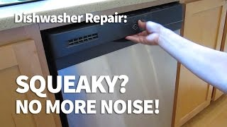 Squeaky Dishwasher Door Fix – Easy DIY Hinge Repair