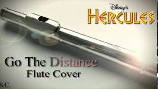 """Go The Distance Flute Cover -From Disney's """"Hercules"""""""