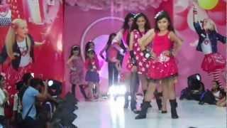 Ameera Johara & Warda Nur...Barbie Fashion Show 2012