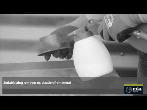 MTX Tools soodapuhalluslaite 1,2 l