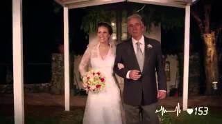 Becel cria melodia com batidas de coração em um casamento