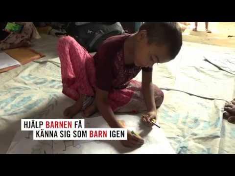 Barnvänliga platser för rohingyiska barnen
