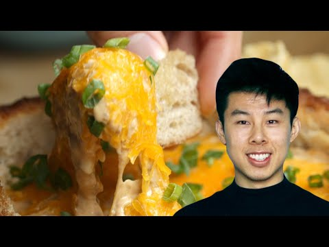 How To Make A Chili Dip Bread Bowl Recipe By Alvin ? Tasty