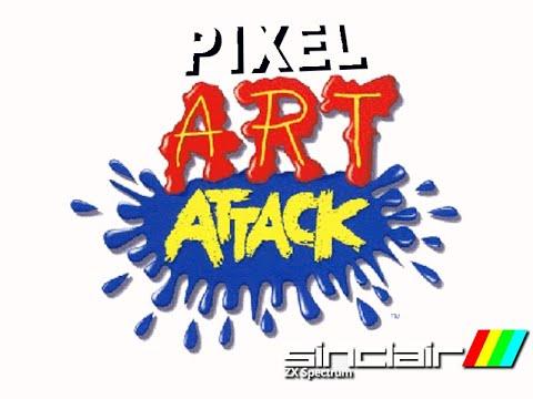Pixel Art Attack 01