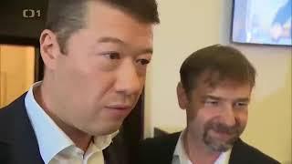 Tomio Okamura vs. Novináři