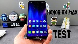 Vidéo-Test : Honor 8X Max Test, 7 pouces et 5000mah..