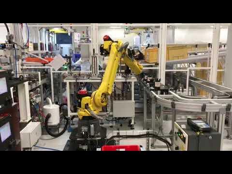 Ligne d'assemblage de filtres à gasoil - Industrie automobile