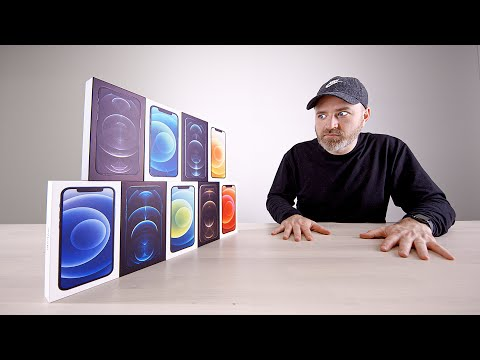 Unboxing EVERY iPhone 12 and iPhone 12 Pro