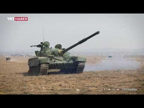 Kırgız ordusu askeri tatbikat başlattı
