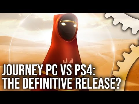 [4K] Journey PC vs PS4 - The Definitive Version Of A Console Classic?