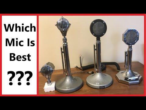 Ham Radio Microphone Showdown - Astatic D104 vs Stromberg Carlson vs Workman #MNHR