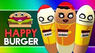 HAPPY BURGER! (Citizen Burger Disorder / Burger Simulator Funny Moments) width=