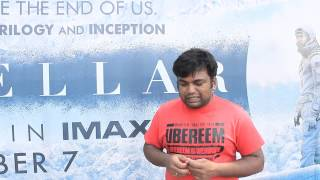 interstellar IMAX 70mm review by prashanth