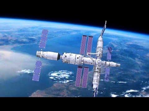 Nave abastece futura estação espacial da China