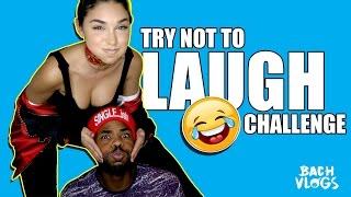 YOU LAUGH YOU LOSE CHALLENGE! w/ CHANTEL JEFFERIES
