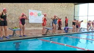 Participa Tlaxcala en estrategia Nado por mi Corazón